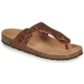 Schoenen Dames Sandalen / Open schoenen André RILA  camel