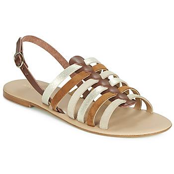 Schoenen Dames Sandalen / Open schoenen André SECRETE Beige
