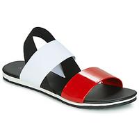 Schoenen Dames Sandalen / Open schoenen André SATANAS Rood