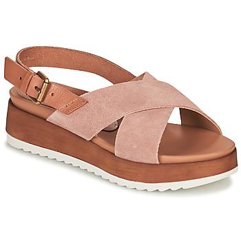 Schoenen Dames Sandalen / Open schoenen André REINE Roze