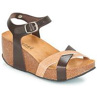 Schoenen Dames Sandalen / Open schoenen André HERA Brown