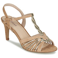 Schoenen Dames Sandalen / Open schoenen André CALECHE Beige