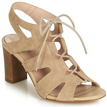 Schoenen Dames Sandalen / Open schoenen André ROMANESQUE Beige