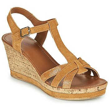 Schoenen Dames Sandalen / Open schoenen André ALOE  camel