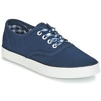 Schoenen Dames Lage sneakers André STEAMER Blauw