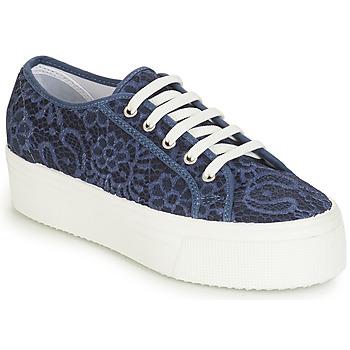 Schoenen Dames Lage sneakers André SODA Blauw