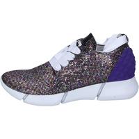 Schoenen Dames Lage sneakers Elena Iachi sneakers multicolor glitter BT587 Multicolore