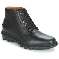 Schoenen Heren Laarzen Sorel ACE CHUKKA WATERPROOF Zwart