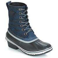 Schoenen Dames Snowboots Sorel SLIMPACK™ 1964 Blauw / Zwart