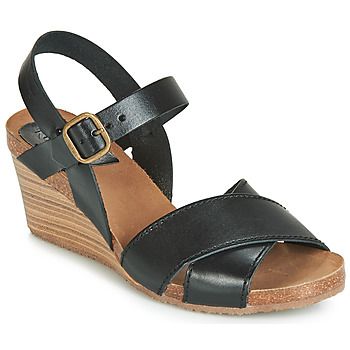 Schoenen Dames Sandalen / Open schoenen Kickers SALAMBO Zwart