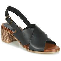 Schoenen Dames Sandalen / Open schoenen Kickers VICTORIANE Zwart