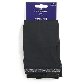 Accessoires Dames Sokken André MARGUERITE Zwart