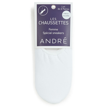 Accessoires Dames Sokken André TATIANA Wit