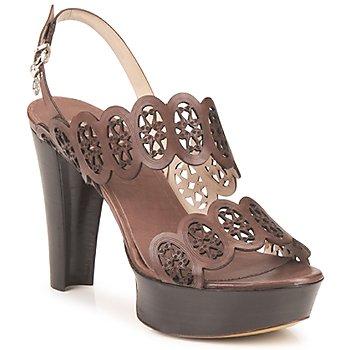 Schoenen Dames Sandalen / Open schoenen Fabi PANAMA Brown