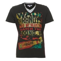 Textiel Heren T-shirts korte mouwen Yurban CLIFF Zwart