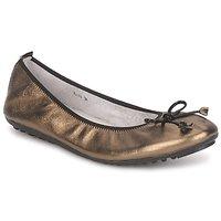Schoenen Dames Ballerina's Mac Douglas ELIANE Brons / Zwart / VERNI
