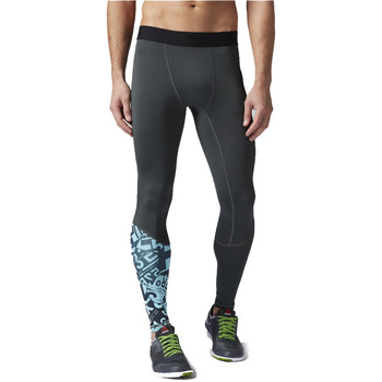 Textiel Heren Leggings Reebok Sport OS Compression Tight Blauw