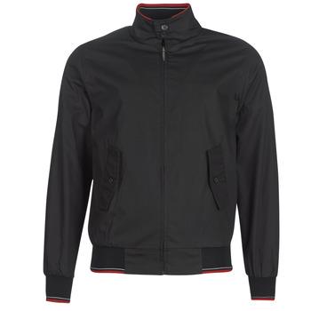 Textiel Heren Wind jackets Harrington MICK Zwart