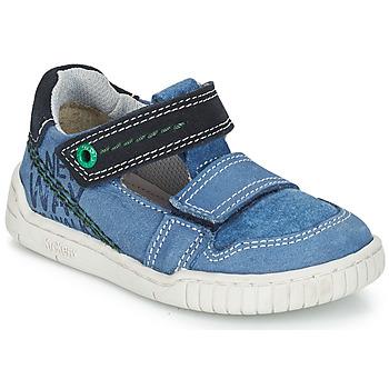 Schoenen Jongens Sandalen / Open schoenen Kickers WHATSUP Blauw