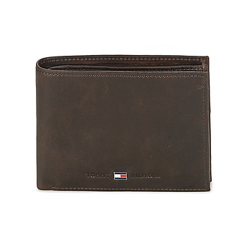 Tassen Heren Portefeuilles Tommy Hilfiger JOHNSON CC AND COIN POCKET Brown