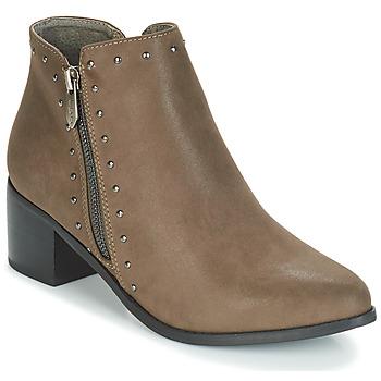 Schoenen Dames Enkellaarzen LPB Shoes JUDITH Kaki