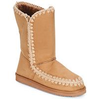 Schoenen Dames Hoge laarzen LPB Shoes NATHALIE  camel