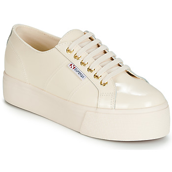 Schoenen Dames Lage sneakers Superga 2790 LEAPATENT Ecru