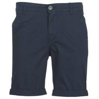 Textiel Heren Korte broeken / Bermuda's Selected SLHSTRAIGHTPARIS Marine