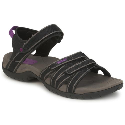 Schoenen Dames Sandalen / Open schoenen Teva TIRRA Zwart / Grijs