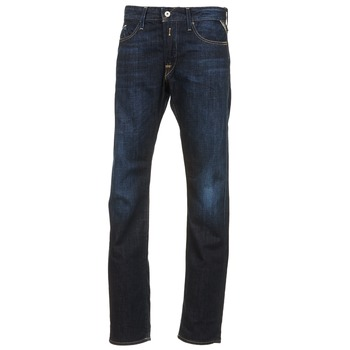 Textiel Heren Straight jeans Replay WAITON Blauw / Donker