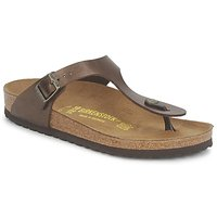 Schoenen Dames Slippers Birkenstock GIZEH Brown