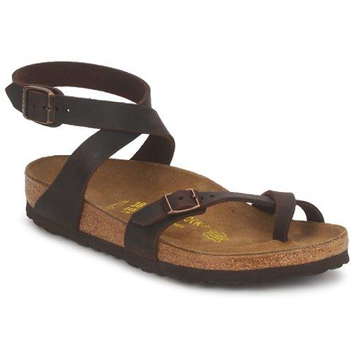 Schoenen Dames Sandalen / Open schoenen Birkenstock YARA PREMIUM Brown