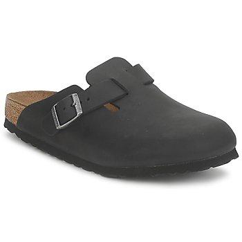 Schoenen Klompen Birkenstock BOSTON PREMIUM Zwart