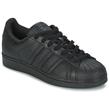 Schoenen Lage sneakers adidas Originals SUPERSTAR FOUNDATION Zwart
