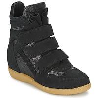 Schoenen Meisjes Hoge sneakers Acebo's MILLIE Zwart
