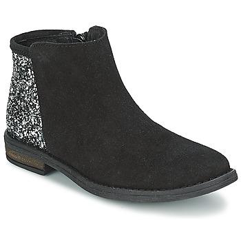 Schoenen Meisjes Laarzen Acebo's MERY Zwart