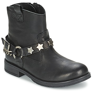 Schoenen Meisjes Laarzen Acebo's JERIE Zwart
