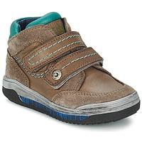 Schoenen Meisjes Hoge sneakers Acebo's ACERA Taupe