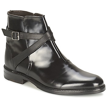 Schoenen Dames Laarzen Hudson IRVINE Zwart