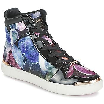 Schoenen Dames Hoge sneakers Ted Baker MADISN Zwart / Multikleuren