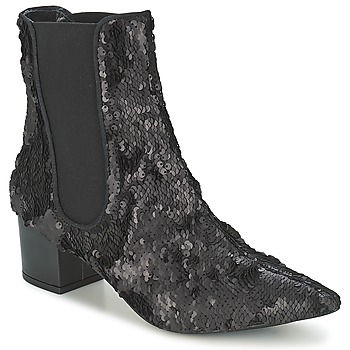 Schoenen Dames Laarzen RAS ANAHI Zwart