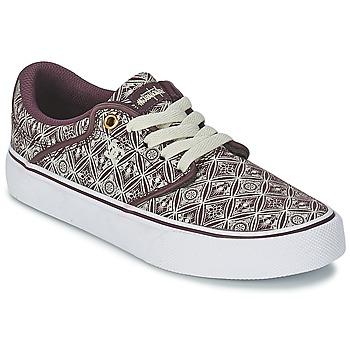 Schoenen Dames Lage sneakers DC Shoes MIKEY TAYLOR VU Syrah