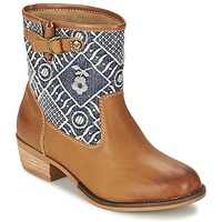 Schoenen Dames Laarzen Roxy CLYDE Brown