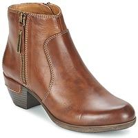 Schoenen Dames Low boots Pikolinos ROTTERDAM MILI 902 Brown