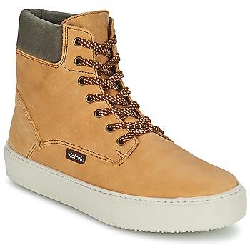 Schoenen Dames Hoge sneakers Victoria BOTA MONTANA PIEL/CUELLO Ocre