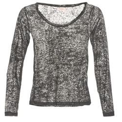 Textiel Dames T-shirts met lange mouwen DDP ACAFA Grijs