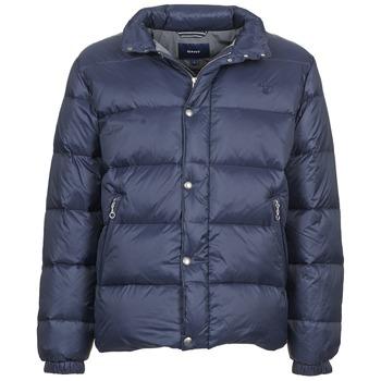 Textiel Heren Dons gevoerde jassen Gant GUIDOULE Marine