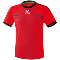 Textiel Heren T-shirts korte mouwen Erima Maillot  Ferrara 2.0 rouge/noir