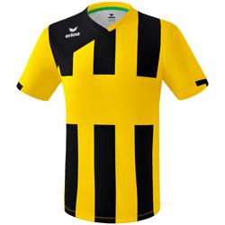 Textiel Jongens T-shirts korte mouwen Erima Maillot enfant  Siena 3.0 jaune/noir
