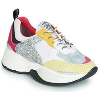 Schoenen Dames Lage sneakers Meline PUNKY DADDY Wit / Roze